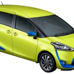 トヨタシエンタ新型のマイナーチェンジの特徴や評判は?価格や燃費は?